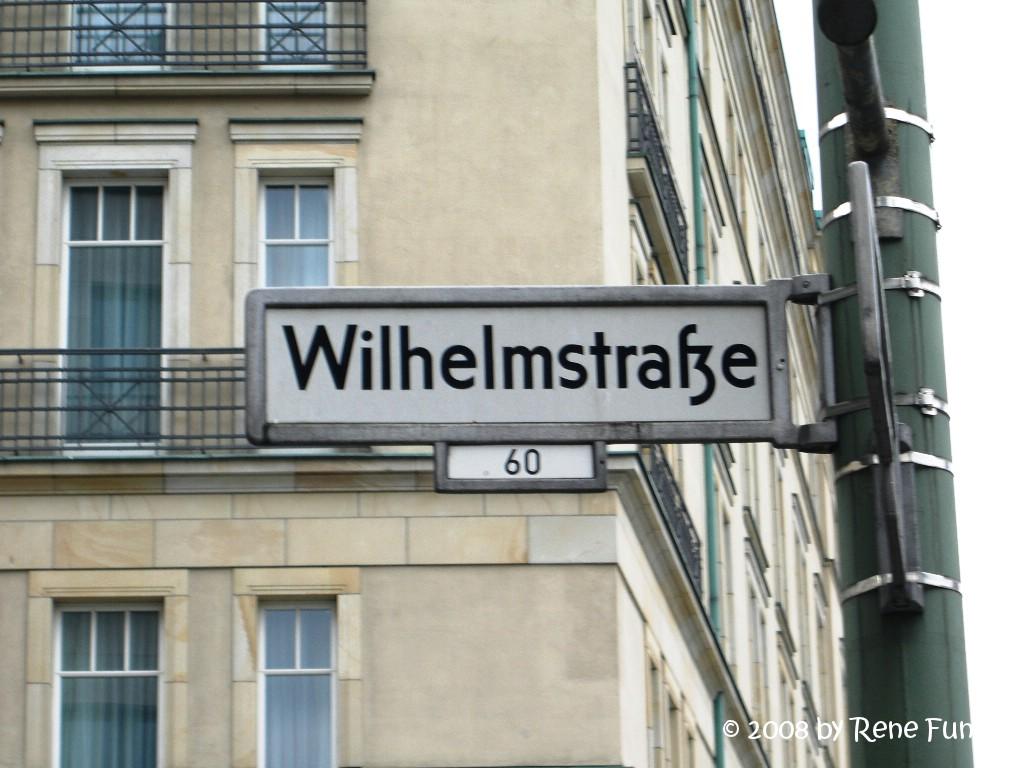 wilhelmstrasse